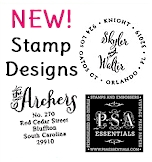 NEW Stamp Designs by PSA Essentials